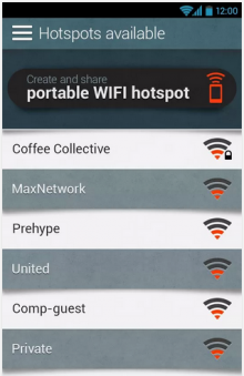Hotspotio 220x339 Hotspotio lets you share your WiFi hotspot with friends (and use theirs too)