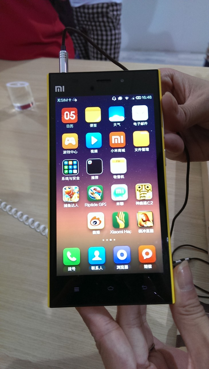 IMAG0215 730x1290 Hands on with the Xiaomi Mi 3 Android phone: Packed with impressive features but disappointingly plasticky