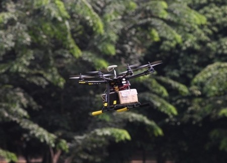 Img385730053 Chinese firm tests drones for express delivery service