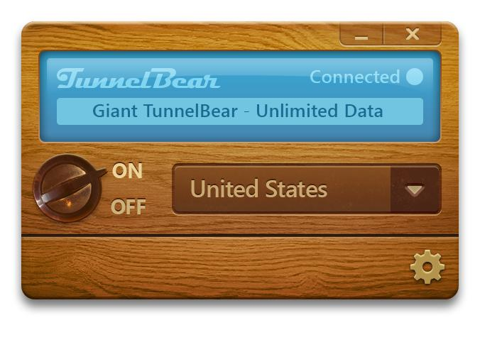 New TunnelBear design Beautiful VPN service Tunnelbear gains always on data privacy and performance enhancements