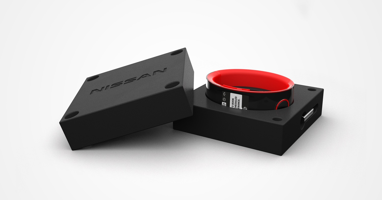 Nissan Unveils its In-Car Smartwatch