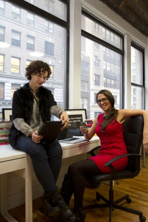 Rachel Sklar and Glynnis MacNicol 520x780 50 people in NYCs tech scene that you need to know