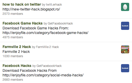 Screen Shot 2013 09 16 at 3.24.00 PM Spammers are back on Twitter, and this time theyre coming after you through lists