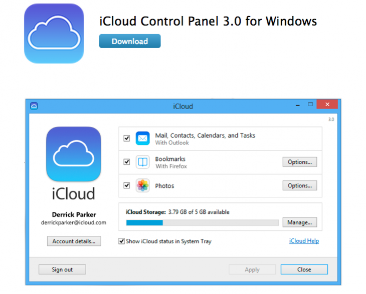 Screen shot 2013 09 19 at PM 05.33.26 730x587 With iOS 7, Windows users can sync their iCloud bookmarks to Chrome and Firefox