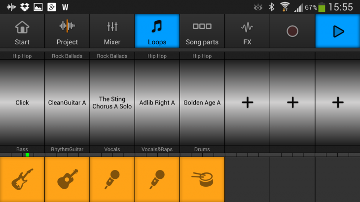 Screenshot 2013 09 09 15 55 59 730x410 Music Maker Jam for Android is an incredibly fun way to mix and make music