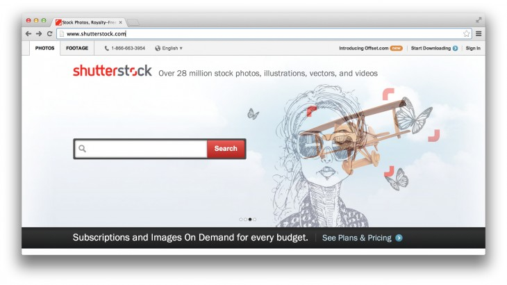 Shutterstock 730x410 Shutterstock sells 3 images per second. Here's why its CEO is upbeat about the future of stock media