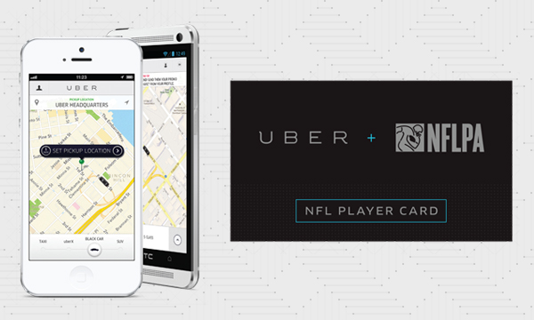 Uber NL Uber strikes deal with NFL Players Association to be the car service for its players and curb drunk driving