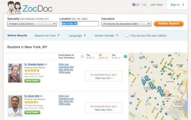 ZocDoc 730x459 50 New York City startups you need to know about