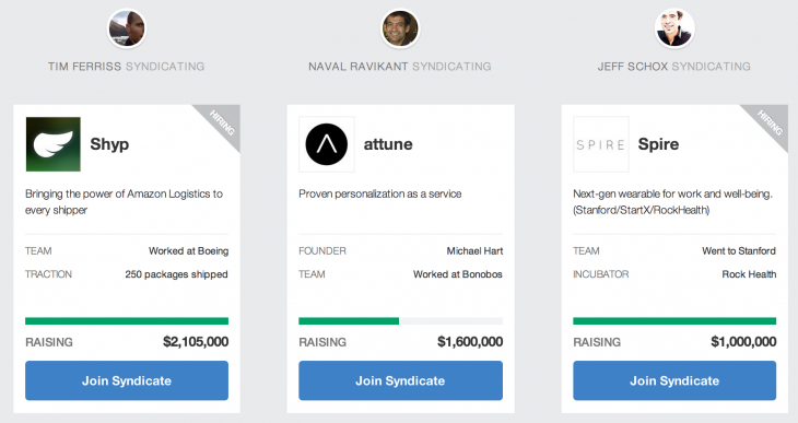 angellist 730x387 AngelList now allows startups to publicly advertise fundraising efforts