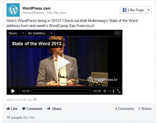 asdf 520x407 You can now embed Facebook posts on your hosted WordPress.com blog