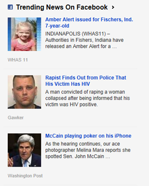 Microsoft Revamps Bing News Trending Stories from Facebook ...