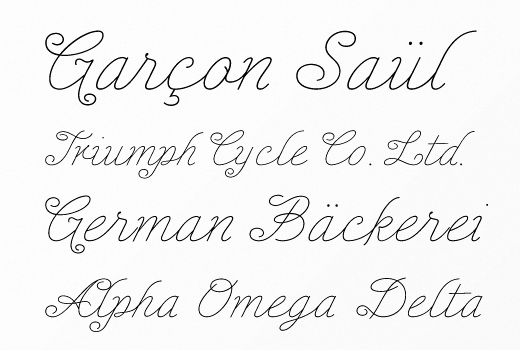 enocenta 20 of the most beautiful typefaces released last month