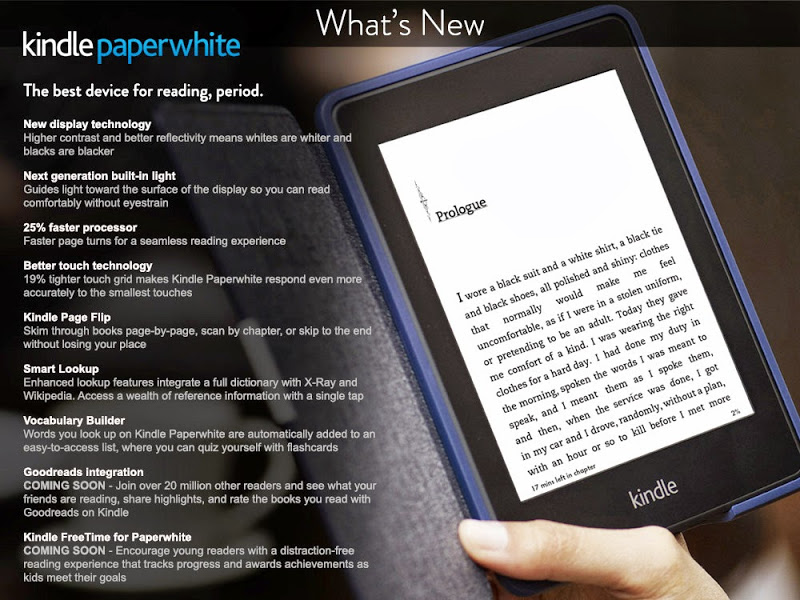 newpw Update: Amazon announces its all new Kindle Paperwhite, available to pre order now in the US