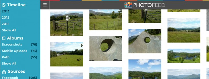 photofeed 730x278 Pixables Photofeed wants to be the one place you store all your photos in the cloud