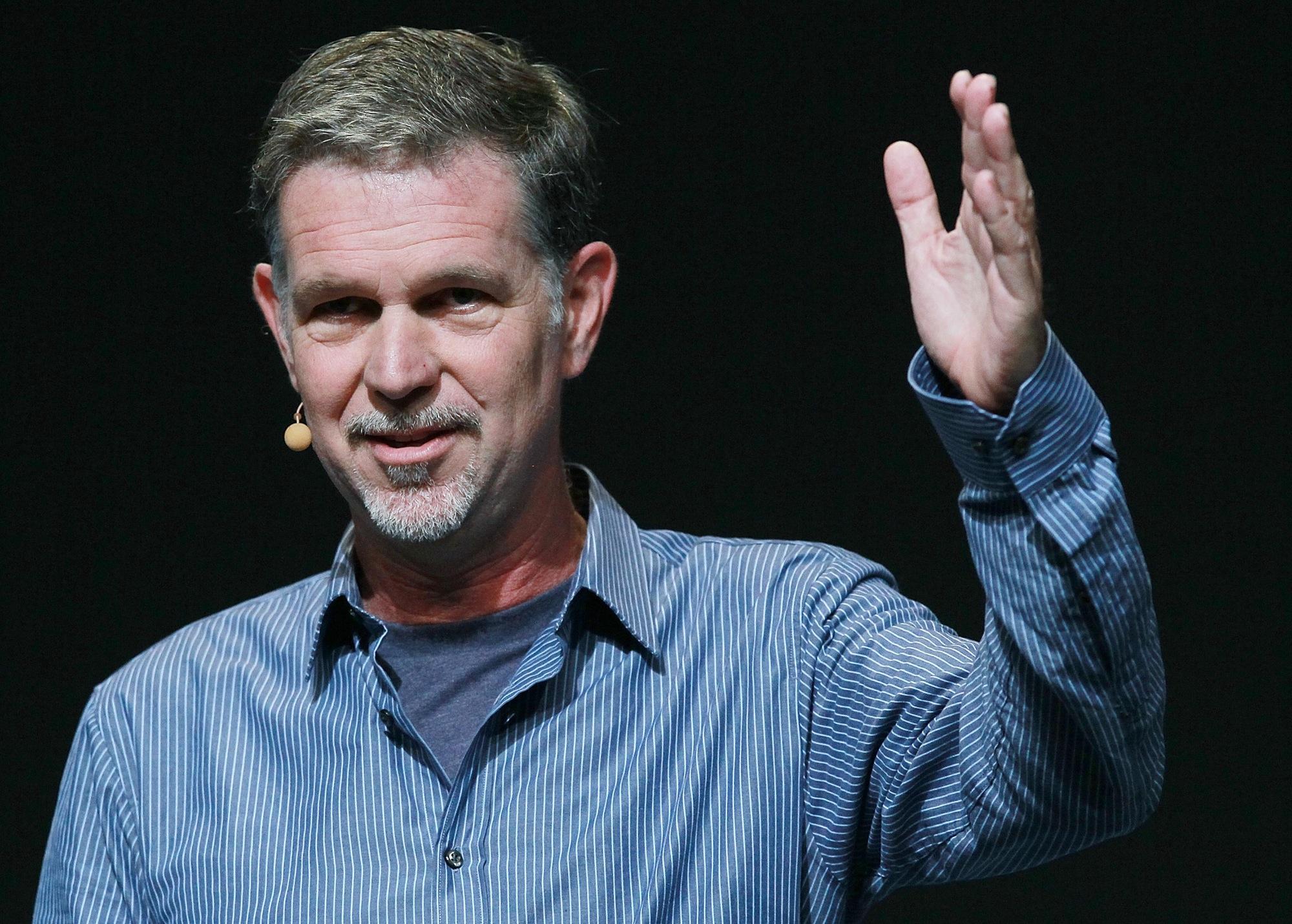 Reed Hastings Inspiring Entrepreneurs Netflix CEO Reed Hastings