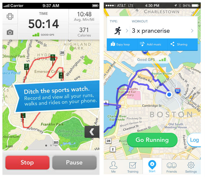 runkeeper beforeafter Before and after: The best iOS 7 app redesigns