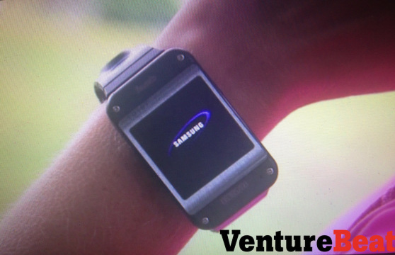 samsung smartwatch Samsungs Galaxy Gear smartwatch leak shows a fitness device with Android apps and a camera