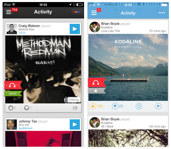 soundwave beforeafter Before and after: The best iOS 7 app redesigns