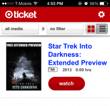 targetticket ios crop 220x211 Hands on with Targets new Ticket digital video service