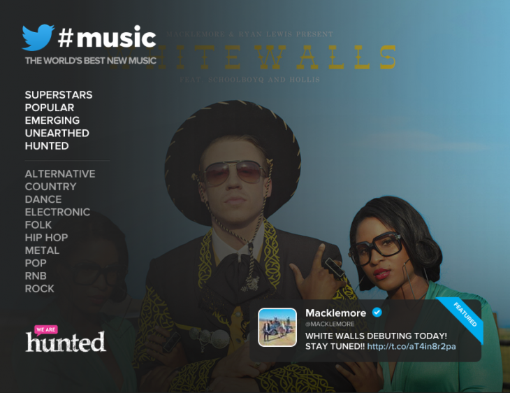 twittermusic spotify 730x562 Twitter #Music tries again with new Spotify app