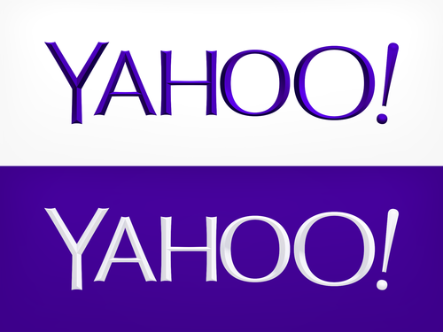 yahoo new logo One more variation of the new Yahoo logo, from the companys design intern