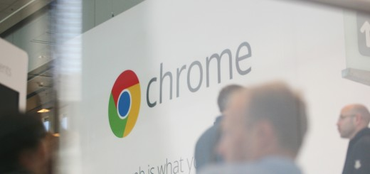 Google Chrome's logo is seen at Google's