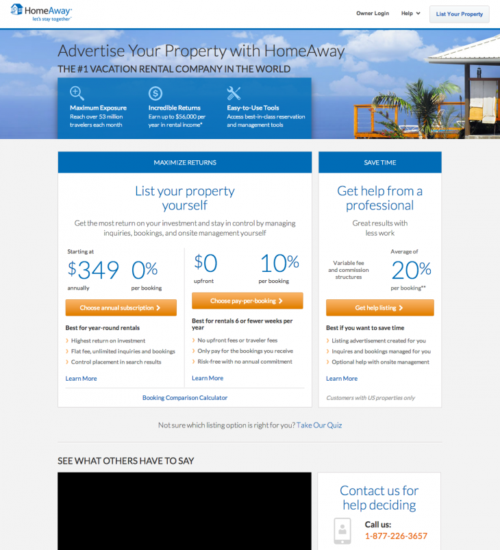 3 Fork LYP13 730x803 As HomeAway hits 1 million listings, its aiming to make vacation rentals as mainstream as hotels