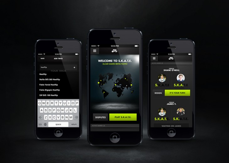 4 Skate 24715 730x521 Nike SB app for iOS helps skateboarders learn new tricks and play S.K.A.T.E with anyone in the world