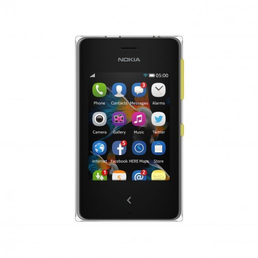 700 nokia asha 500 ss yellow menu 520x520 Nokia announces Asha 500 for $69, Asha 502 for $89, and Asha 503 for $99