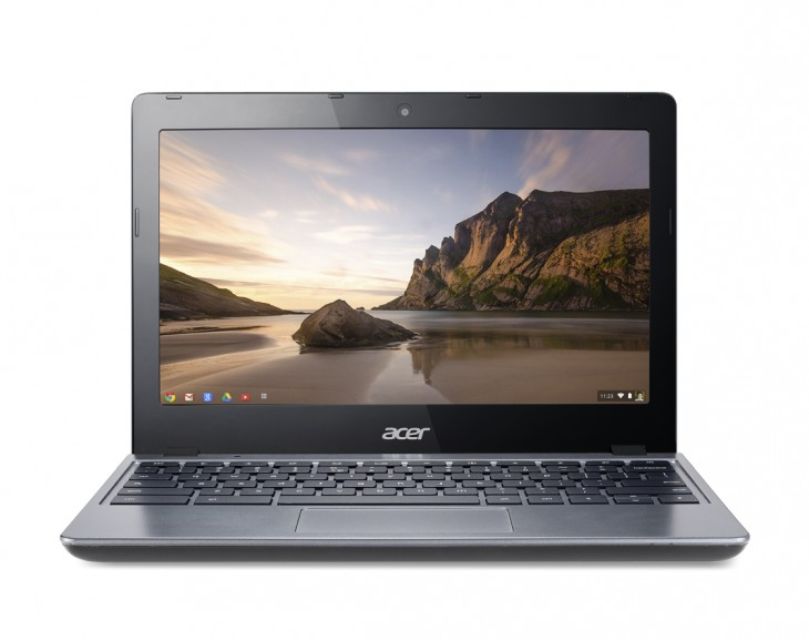 Acer Chromebook previewed at IDF forward 730x577 Acer launches $249 Haswell powered 11.6 inch C720 Chromebook with 8.5 hour battery life and 16GB SSD