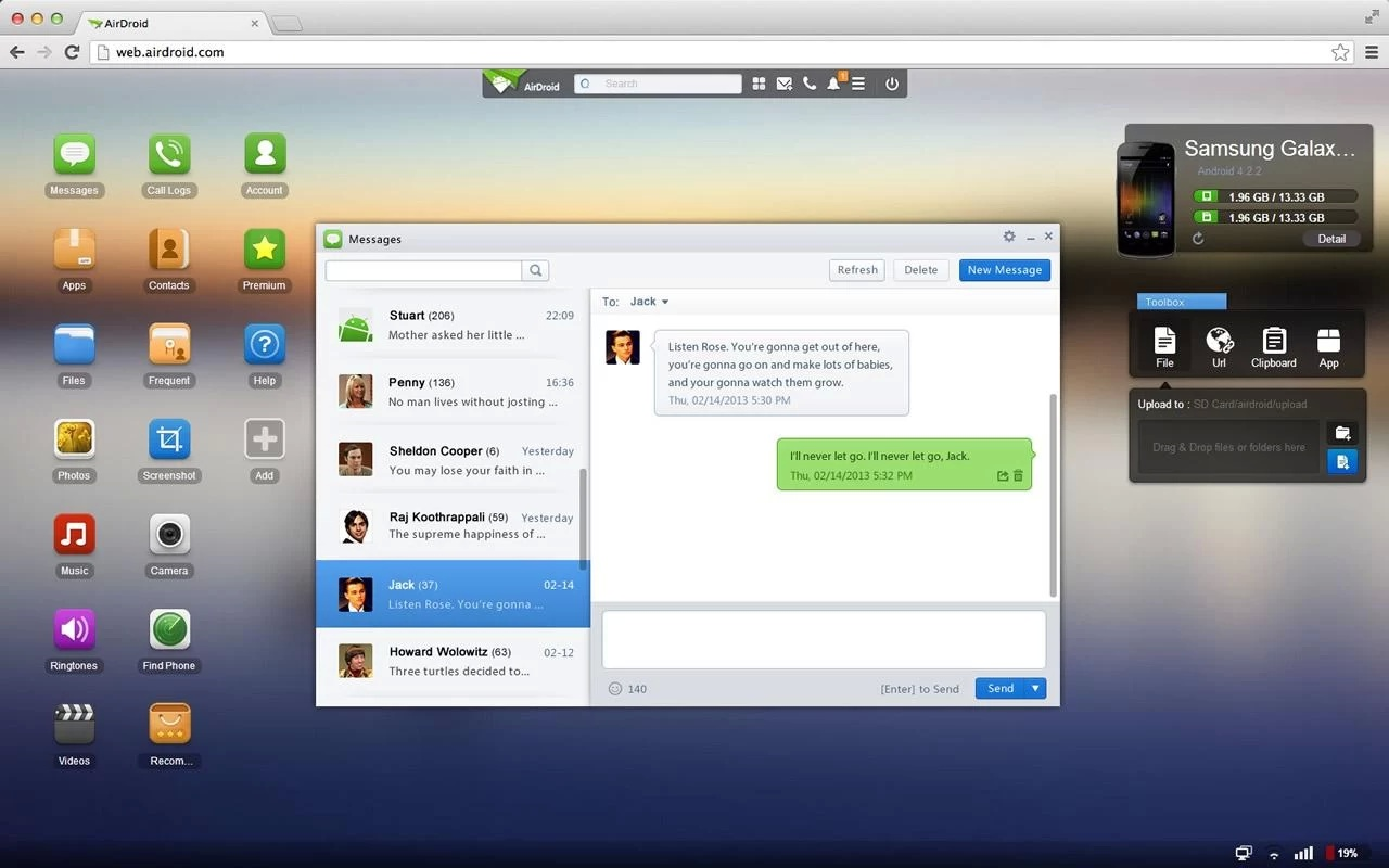 AirDroid The 40 Must Have Android Apps for the Power User