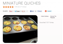 Allthecooks quiches