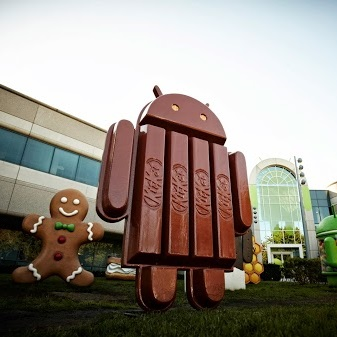 Android KitKat Android KitKat is now rolling out to Samsung Galaxy devices in the US