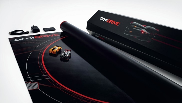 Anki Drive Starter Kit 3x4 view on white background 730x412 Anki Drives amazing AI remote controlled cars go on sale October 23 for $199 at Apple Stores