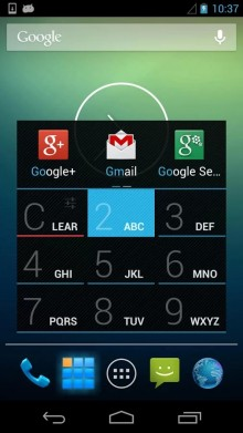 AppDialer 220x391 The 40 Must Have Android Apps for the Power User