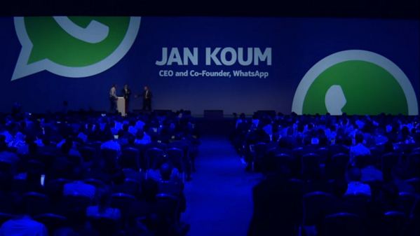 BXKcuWjCUAAitd  Mobile messaging service WhatsApp now has 350 million active users each month