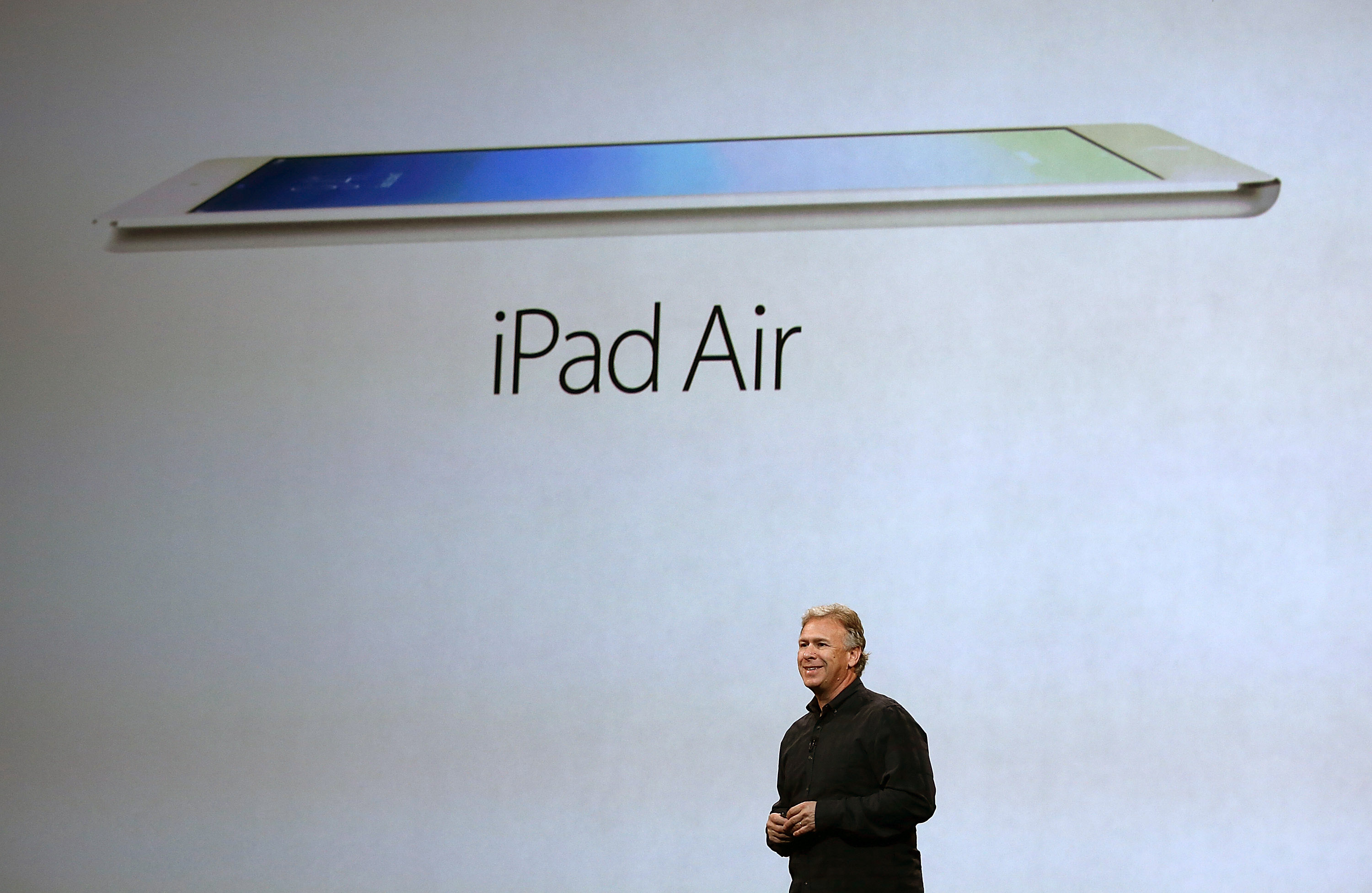 Getty iPad Air Apples October event in pictures