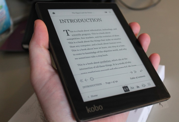Kobo Aura Review A Compact E Reader That Packs A Punch