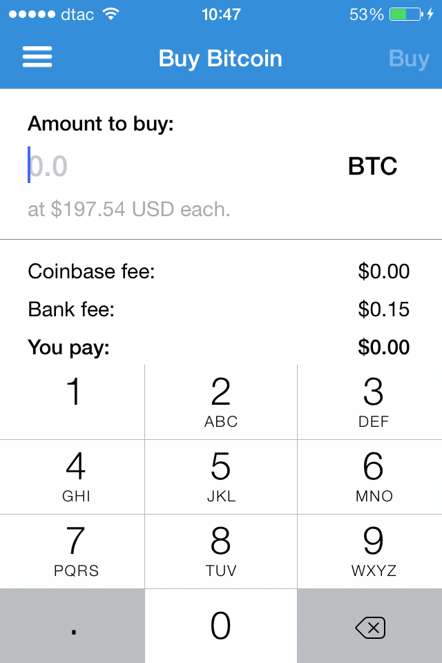 IMG 5646 Coinbases iOS app lets you buy, sell and send Bitcoin from your iPhone