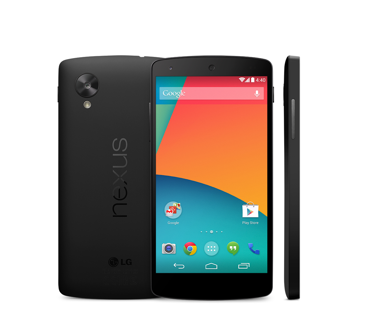 Nexus 5 : Androidのフラグシッ...
