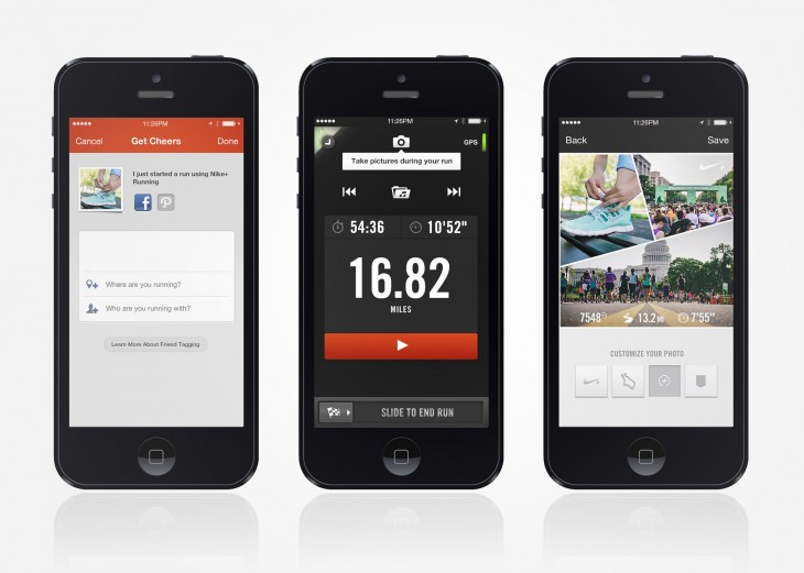 Nike Plus Running App Updates original 730x521 Nike adds photo sharing and auto pause to its Nike+ Running iOS app