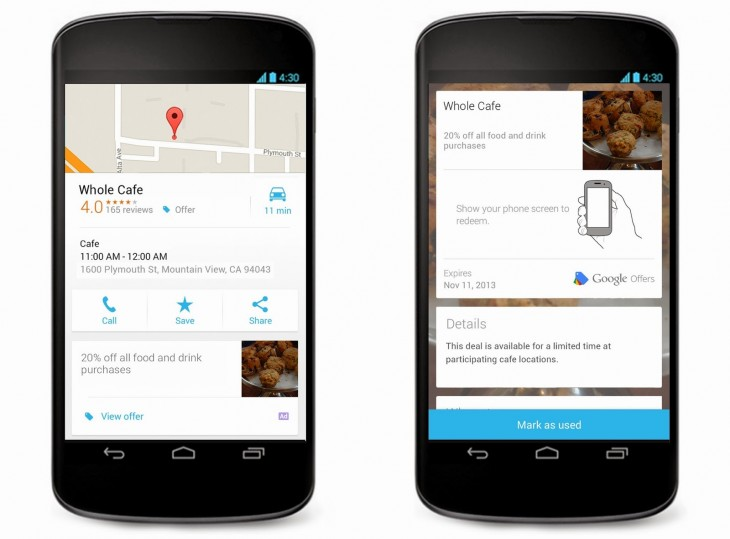 Offers Maps Blogpost 730x539 Google updates its self service Offers tool to let advertisers create ads in minutes, add them to Google Maps