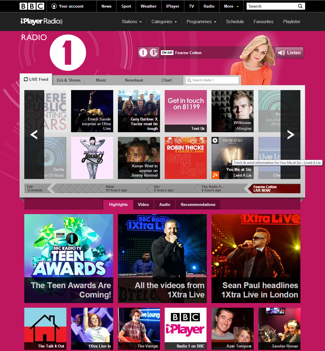 Playlister Radio1 How to use the BBCs new Playlister music service