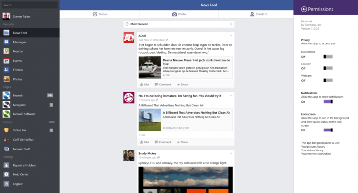 SNAG 0007 730x395 The official Facebook app for Windows 8 is now rolling out to users