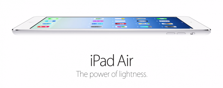 Screen Shot 2013 10 22 at 11.31.07 AM 730x289 After 170M iPads sold, Apple unveils its iPad Air for $499 on November 1