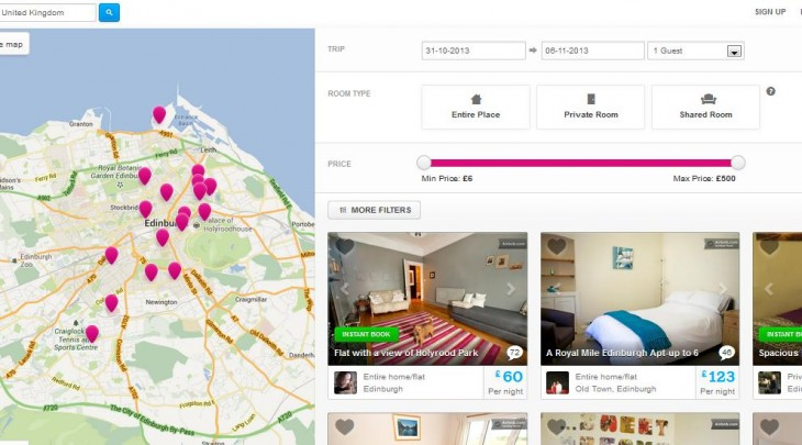 Screenshot 19 730x405 Airbnb refreshes its property search page with giant map, bigger images and more