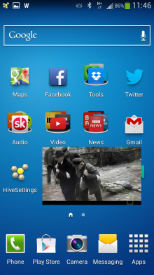 MoBoPlayer video player app homescreen