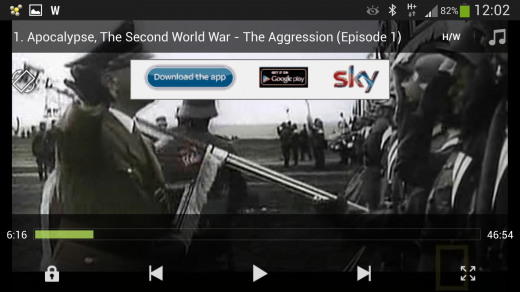 MX Player video player app Android