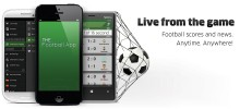 TheFootballApp 220x100 The Football App for iOS gets revamped to show off some new UI and social skills