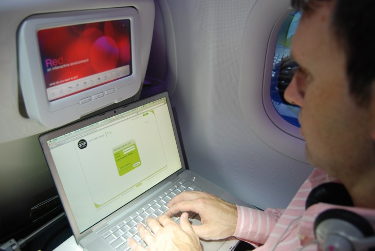 Virgin America 730x488 The complete guide to in flight WiFi in the USA